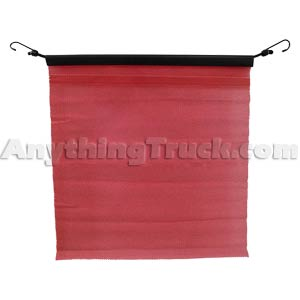 PTP 06925 Easy Hook Red Warning Flag