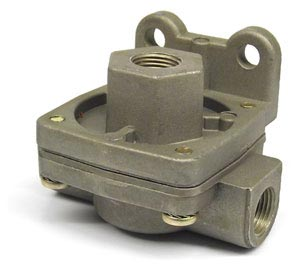 "PTP 288251N Quick Release Air Brake Valve - 3/8"" NPT Ports, 1 PSI Crack Pressure"