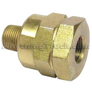"""PTP 800373 Single Check Valve - 3/8"""" NPT Ports, Female Inlet, Male Outlet"""