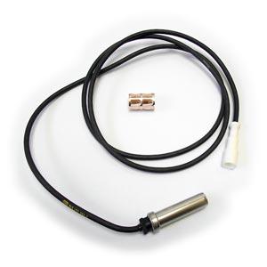 "Bendix 801543 WS-24 Wheel Speed Sensor, Straight, 66"" Harness, DIN Connector"