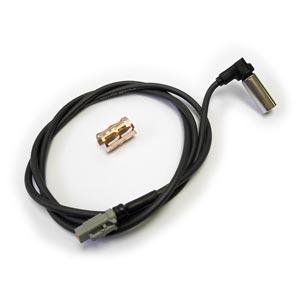 """Bendix 801546 WS-24 Wheel Speed Sensor, 90 Degree, 60"""" Harness, Deutsch DTM Connector"""