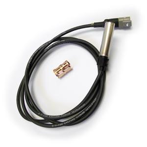 """Bendix 801552 WS-24 Wheel Speed Sensor, Straight, 75"""" Harness, Deutsch DT04-2P Connector"""