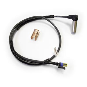 "Bendix 801558 WS-24 Wheel Speed Sensor, 90 Degree, 37"" Harness, Delphi Metripack GT 150 Connector"