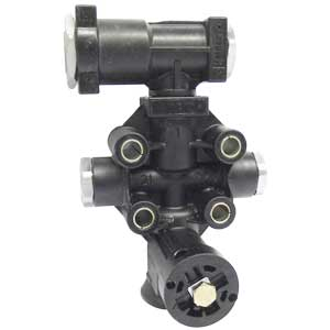 Haldex 90555106 Chassis Height Control Valve with Built-In Dump (Replaces 90554271)