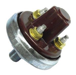 "Trailer Emergency Stop Light Switch for Air Brakes, 1/8"" NPT"