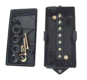 Haldex BE22040 7-Terminal Junction Box with Alternate Grommet Locations