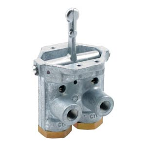 Haldex KN20110 Panel Mount Double Flipper Style Valve