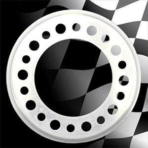 "Centramatic 600-610 19.5"" Steer Wheel Automatic Balancers - 1 Pair, 10 Holes, 11.25"" Bolt Circle"
