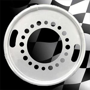 "Centramatic 600-620 19.5"" Dual Rear Wheel Automatic Balancers - 1 Pair, 10 Holes, 11.25"" Bolt Circle"