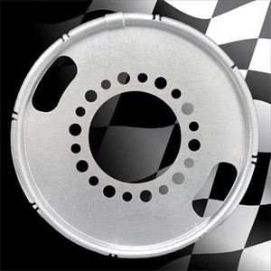 "Centramatic 600-648 22.5"" & 24.5"" Rear Wheel Automatic Balancers, 1 Pair, 8 Holes, 275mm Bolt Circle"