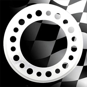 "Centramatic 700-720 22.5"" Wheel Balancers, 1 Pair, 10 Hole, 11.25"" Bolt Circle, Disc Brake Coaches"