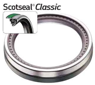 PN# 40086 SKF Chicago Rawhide Scotseal Classic Wheel Seal for Steer Axles