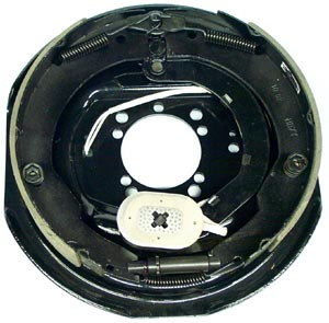 "12"" x 2"" RH Electric Brake Assembly with 4 Hole and 5 Hole Mounting Patterns for Dexter Axles"
