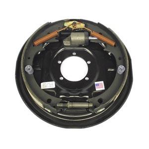 """12"""" x 2"""" RH Dexter 7K Hydraulic, Uni-Servo Brake with 5-Bolt Backing Plate"""