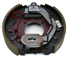 "12-1/4"" x 2-1/2"" 7.2K RH Electric Brake Assy with 4 Bolt Backing Plate for Dexter Axles"