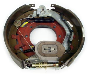 """12-1/4"""" x 3-3/8"""" 9K-10K FSA RH Electric Brake Assy with 7 Bolt Backing Plate Replaces Dexter 23-451"""