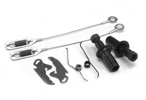 "12-1/4"" RH & LH Electric Brake Shoe Adjuster Kit (Stamped Backing Plates Only)"