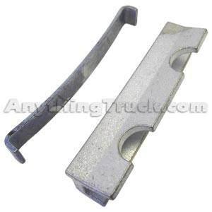 Disc Brake Caliper Hardware Kit (Does One Brake Caliper), Use with 55250 Caliper