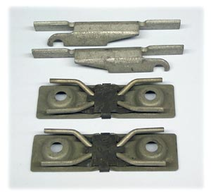 Disc Brake Caliper Hardware Kit (Does Two Brake Calipers) - Through 1985, Use with MD236 Pad Kit