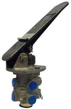 E-6 Brake Valve WITH Treadle Assy and Mounting Plate