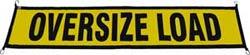 Easy Hook Oversize Load Sign