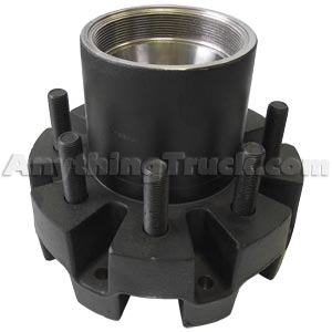 """Hub for Dexter 9K, 10K, & 13G Trailer Axles, with Bearing Cups and Wheel Studs, 8 on 6.50"""""""