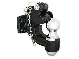 """Buyers Products BH102516 10-Ton Combination Hitch with 2-5/16"""" Hitch Ball and Pintle Hook"""