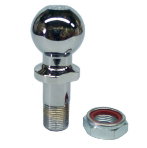 """Buyers Products RB102000 2"""" Chrome Plated Hitch Ball for BH10 Combination Hitches"""