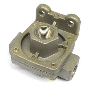 "PTP 229860 Quick Release Valve - 3/8"" NPT Delivery Ports, 1/2"" NPT Supply Port, 1 PSI Crack Pressure"
