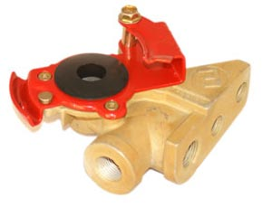 PTP 11441 Emergency (Red) Gladhand, Bracket Mount Style Hose Coupler