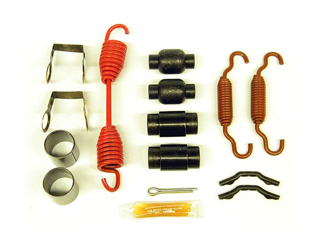 Air Brake Shoes & Hardware Kit for Fruehauf Pro-Par 16-1/2