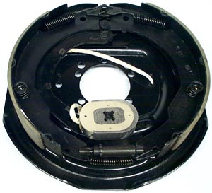 "12"" x 2"" LH Electric Brake Assembly with 4 Hole and 5 Hole Mounting Patterns for Dexter Axles"