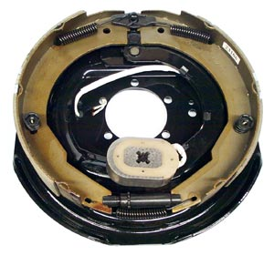 "12"" x 2"" RH Electric Brake Assembly with 5 Bolt Backing Plate for Dexter Axles"