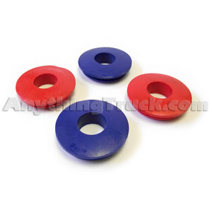 Polyurethane Gladhand Seal Kit, Includes Two Red and Two Blue Gladhand Seals