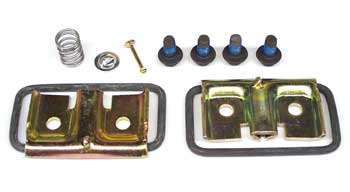 Disc Brake Caliper Hardware Kit (Does One Brake Caliper), Used with MD171 Pad Kit