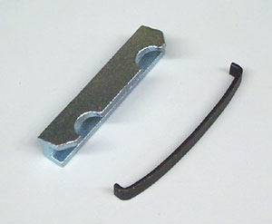Disc Brake Caliper Hardware Kit (Does One Brake Caliper), Used with MD184 Pad Kit