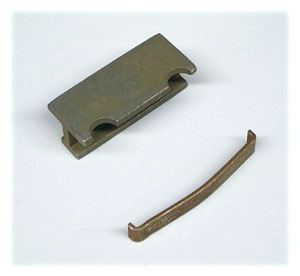 Disc Brake Caliper Hardware Kit (Does One Brake Caliper), Used with MD224 Pad Kit