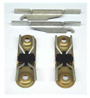 Disc Brake Caliper Hardware Kit (Does Two Brake Calipers) - 1986-1992, Use with MD236 Pad Kit