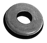 Flat Rubber Gladhand Seal (Double Lip)