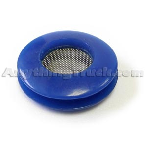 Blue Polyurethane Air Brake Gladhand Seal with Protective Screen