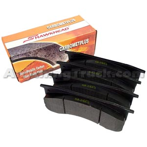 Carbomet Plus D786-7654 Brake Pad Set