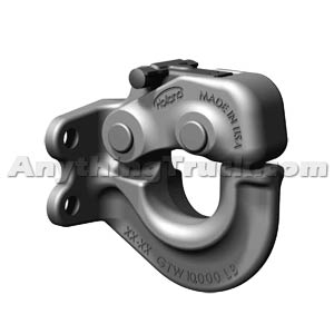 SAF Holland PH-10RP41 5-Ton Rigid Type Pintle Hook
