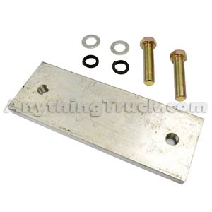 Buyers Products 3009253 Aluminum Vibrator Mounting Plate for Aluminum Dump Bodies