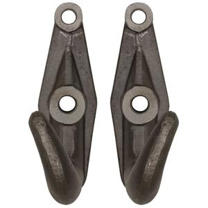 Buyers Products B2801A Drop Forged Heavy Duty Towing Hooks, 44,600 lbs WLL
