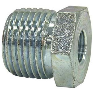 "Buyers Products H3109X20X16 Steel Pipe Thread Reducer Bushing, 1-1/4"" NPT Male x 1"" NPT Female"