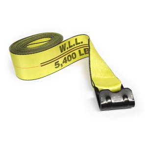 "4"" x 27 ft. Winch Strap with Flat Hook"