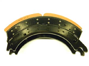 "Air Brake Shoes & Hardware Kit for Meritor 16-1/2"" x 7"" 'Q Plus', Does One Wheel"
