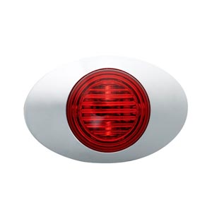 Grote 45772 Red M3 Series LED Clearance Marker Light