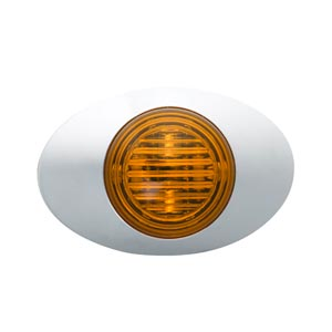 Grote 45773 Yellow M3 Series LED Clearance Marker Light