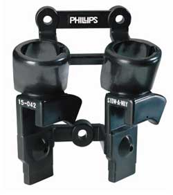 Phillips 15-042 Stow-A-Way Gladhand and Plug Holder (Two Plugs, Two Gladhands)